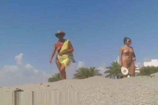 Nudist Beach - Tennis Lesson