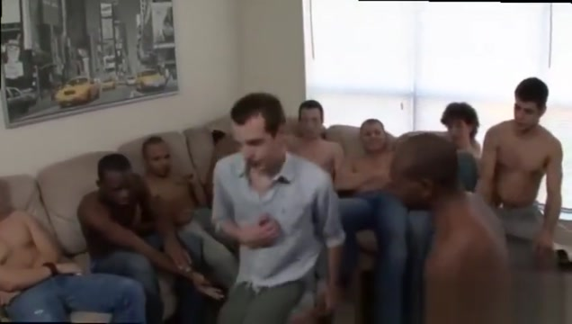 Black gay gangbang cumshot Sean Summers Bukkake Splash college girls boob slips
