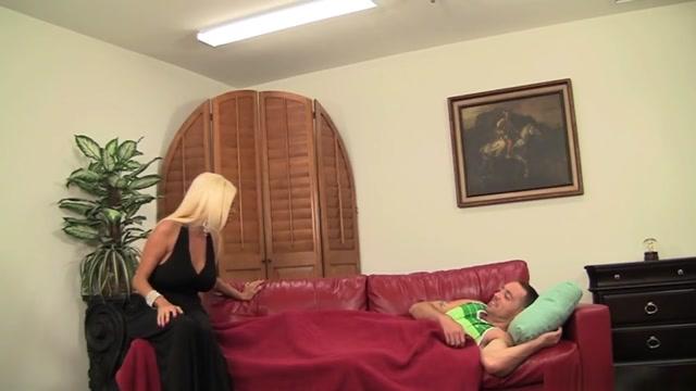 Big Tit Milf Nikita Von James Takes Her Sons Friends Cock