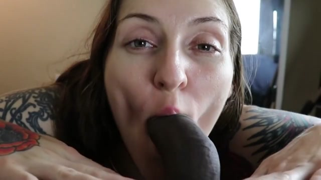 PAWG Wiggles Giant Butt While Gagging On BBC Cum In Mouth Part 1 Clip daily free masturbation video