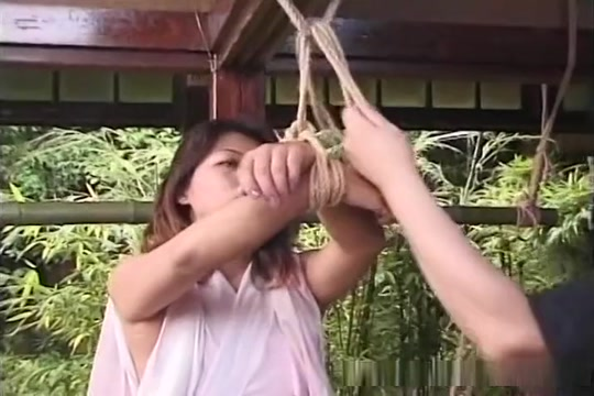 Outdoor Japanese torture unleashed right here Hot small naked big tits
