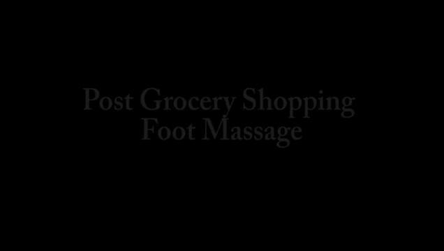 ALYSSA KAYSON SHOPPING FEET SWEATY STINKY DIRTY BAREFOOT POV WORSHIP & JOI Bbw ebny milf 3