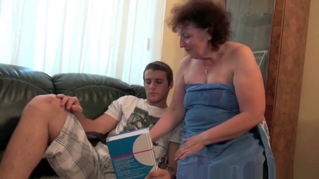 Grandma knows best how to drain your balls Girl beast porn gifs
