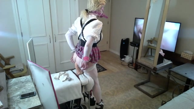 Sissy Bimbo Schoolgirl hot or not sexy