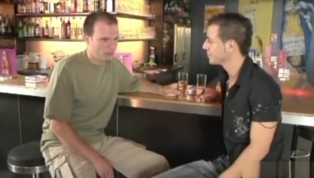 Two horny guys fucking in a bar watch sex scene from mainstream movie online