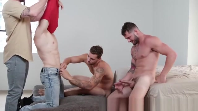 Muscular studs has his holes stretched by three inked studs What do most guys like in girls