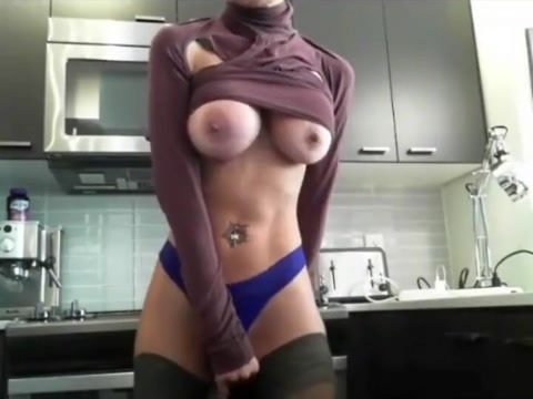 Persian girl with fake tits on chaturbate