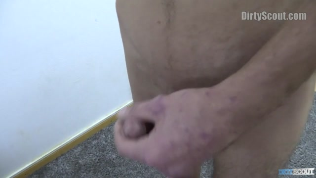 Dirty Scout 165 - BIGSTR Chubby whore handjob cock and squirt