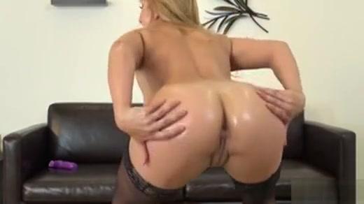 Bodacious Blonde In Black Stockings Lea Lexi Fucks Herself To Climax Slingshot Cross Bikini