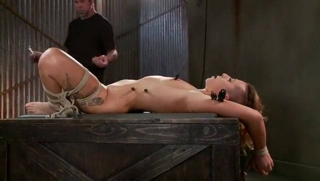 Bonny tart in real BDSM action Porn tube https