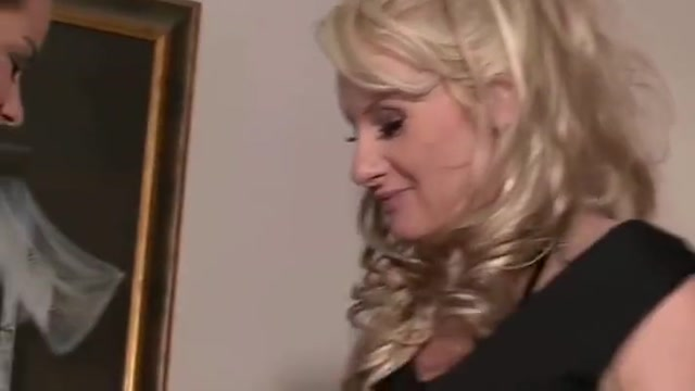 He leaves and his mom seduces his GF Ashley scott nue