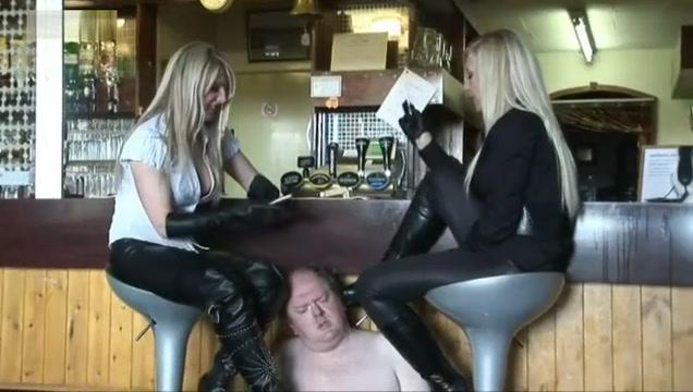 Bootlickers bar duty Clip online position sex video