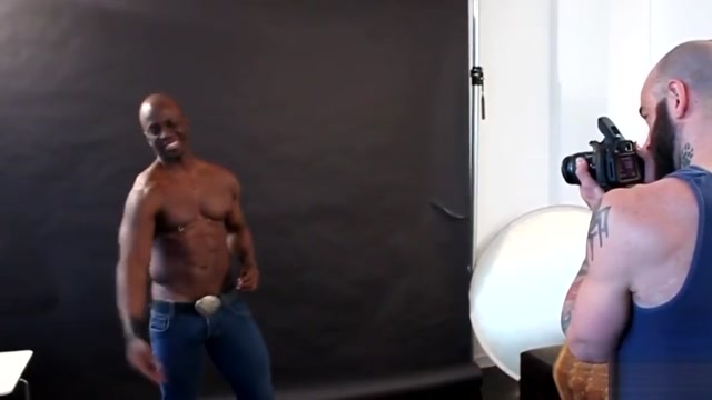 Ebony hunk cocksucking during photo shoot Hookup a man with generalized anxiety disorder