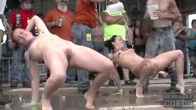 neverbeforeseen Abate Of Iowa Biker Rally Strip Contest June 30 2011 - SouthBeachCoeds