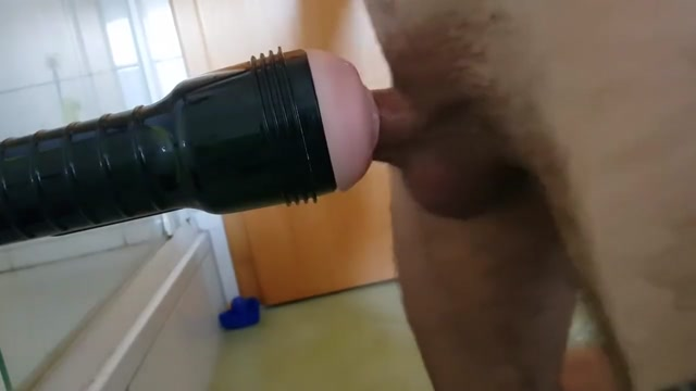 Fuck my Pussy Fleshlight after Work ;) Brunette asian suck dick and anal
