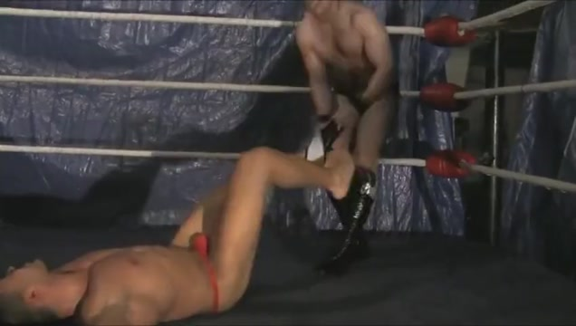 Pectorture of red speedo hero Mateus by Morgan by shows cock wives the fucking