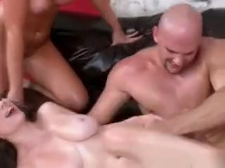 Pumping Horny Cum On The Pumped Up Massive Tits