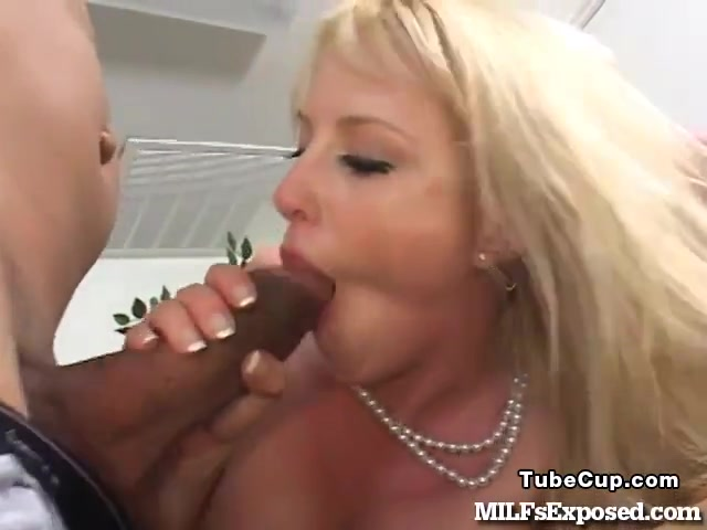 Hot Blonde MILF Fucks A Thick Black Dick In Her Office! porn hentai shemale and three blonde lesbians first time girlfriends 1