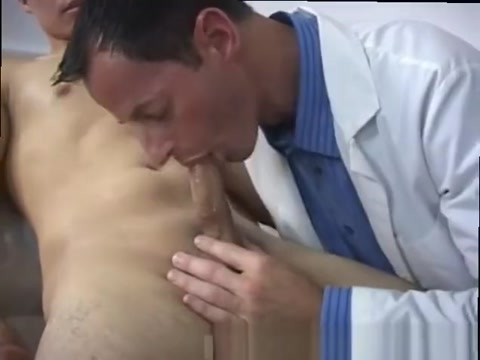 Devin-tube men medical examination and young doctor gay massage Gentleman shaved well