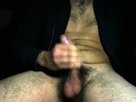 Jerking my uncut cock, creamy cum. Bare naked ladies chickety chicken