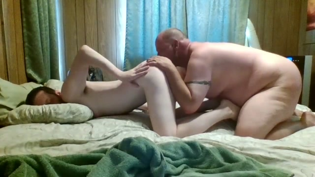 Ass buffet and some Dildo play Naked girl in front of boyfriend