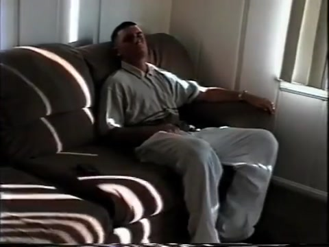 Cowboy Marine getting hic dick sucked and fucking on couch David cook light on