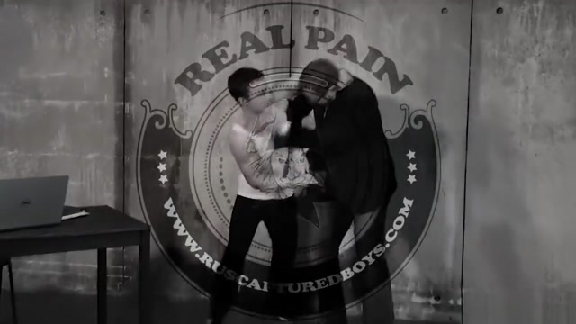 Interrogation of the Hooligan - Part I muscle men in jeans