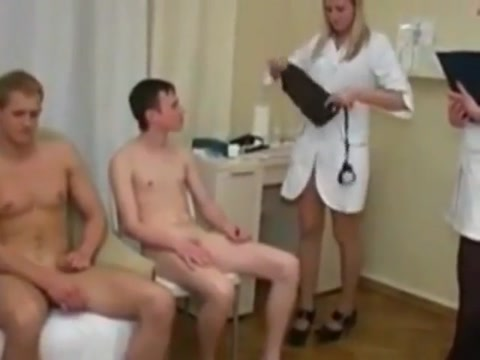 Gay - Medical checkup Milf in the garden