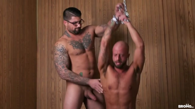 Ryan Bones & Edan Wolf in Rough & Wet Part 1 - BROMO Intimate sexual intercourse videos