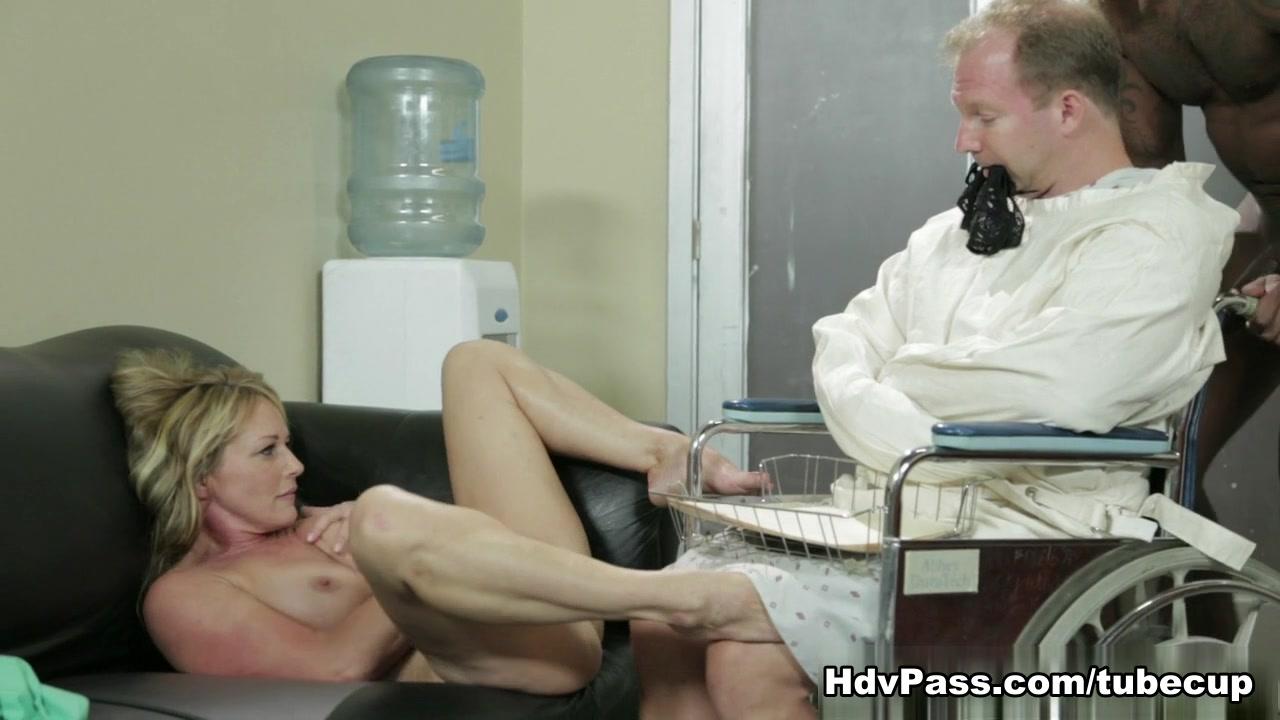 Shayla Laveaux in Sexy MILF Nurse Shayla Laveaux Gets Fucked By Huge Black Cock