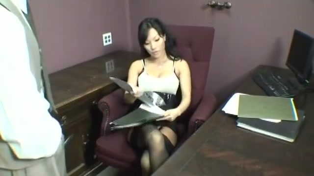 Hot Asian assistant seduces her coworker Femdom househusband training