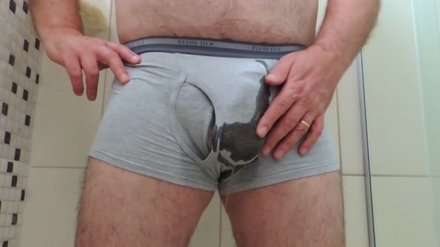 Peeing on my Boxer Brief Underwear... and jerk off Toledo casual encounters