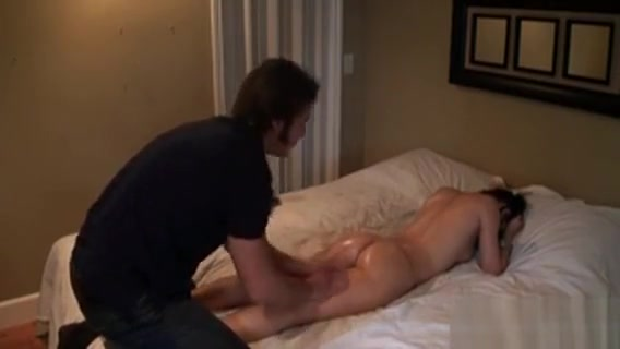 Oil Massage With Wet Oral Job