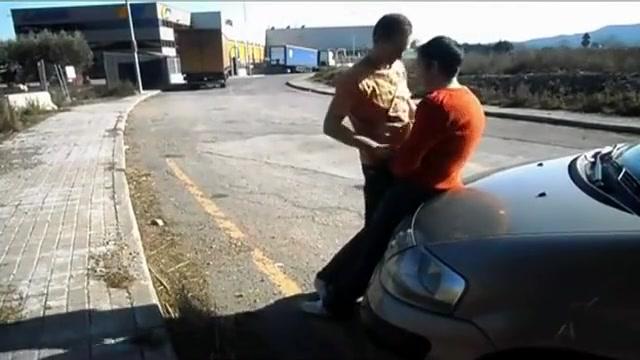Rendez-Vous Parking Biggest body cumshots