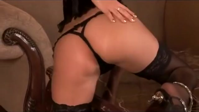 Yasmine Gold hard fucking in sexy black stockings Full mature com