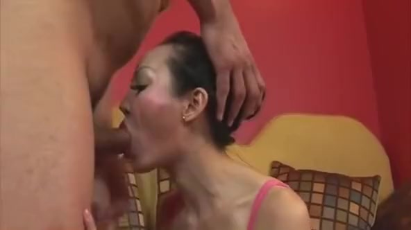 Mature slut takes on young cock