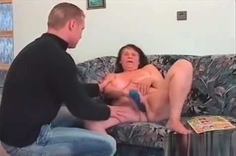 Mature Tramp In Her Sixties Eating Teen Dick