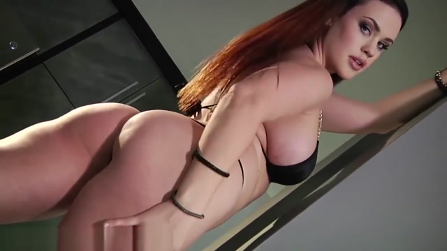 Curvaceous Roxy says FUCK MY ASS  Gets Creampie!