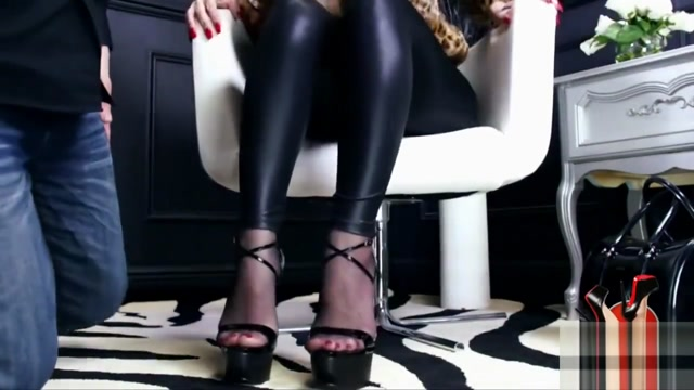 Mistress walking in cummy shoes Mature store