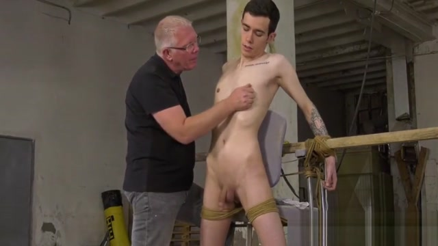 Smooth twink gets bound and blown by perverted old man Ebonysub Com