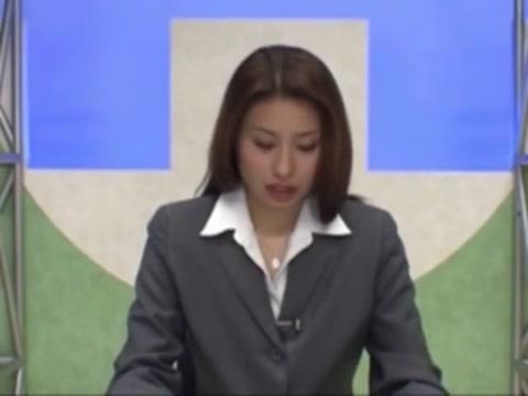 Japenese News Reporter Facial