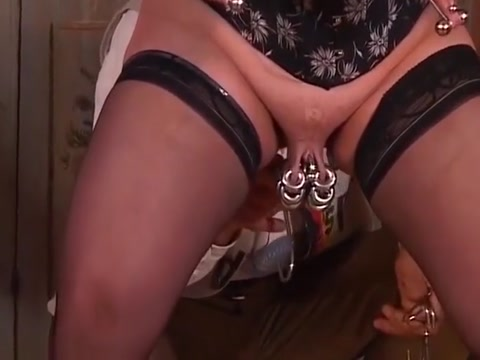 Extreme German Mature Slave during sex the vagina was pasty