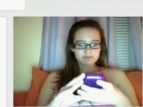 Omegle webcam girl #52 7 minutes of girls next door having sex