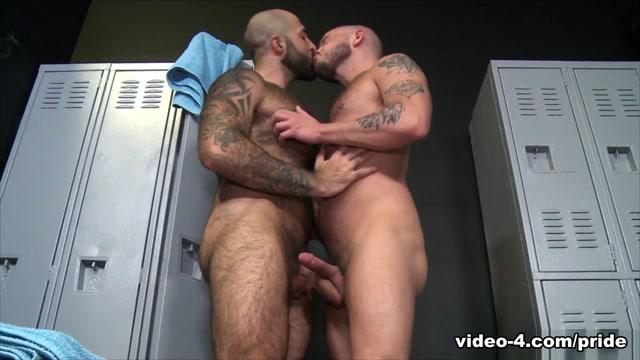 Sean Harding & Atlas Grant in Lets Do It In The Locker Room - PrideStudios sharp vagina pain during period