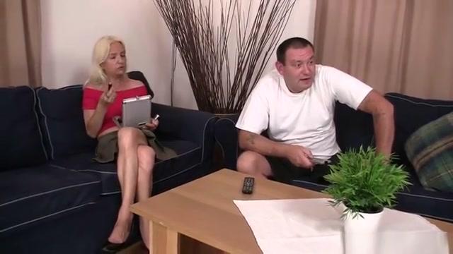 Horny parents seduce their sons GF