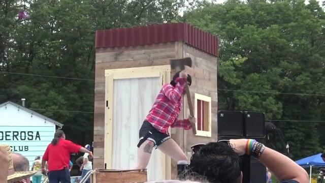 Naked Lumberjack Lita Von Doom