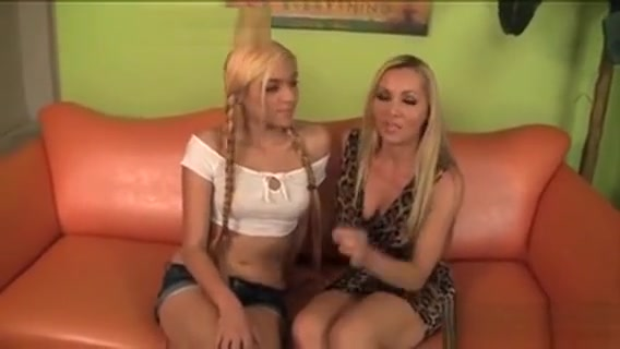 Hot Mother And Daughter Get Fucked Hard On The Bed