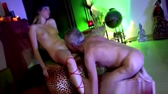 Lucky Old Man Bangs Sweet Blonde Teen In Witch Disguise Summer Carter HQ Sex Movies