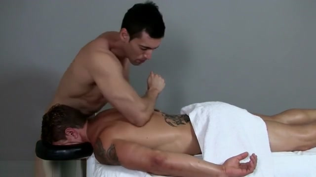 Muscle Stud massaged to a happy ending Nadia Jay Full Body Massage