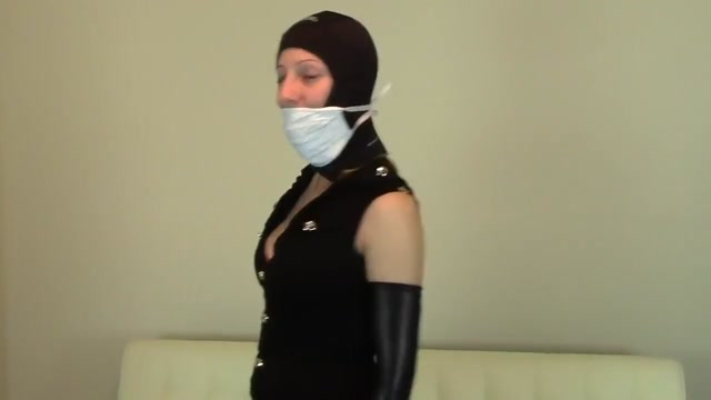 JOI in a selection of masks. 2 girls playing with dildo pictures